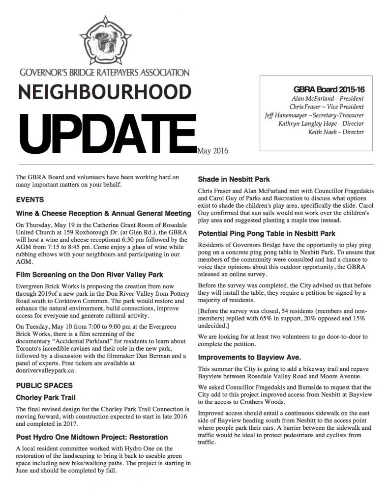 GBRA Neighbourhood Update-201605-page1